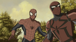 Spyder-Knight and Spider-Man USMWW 3