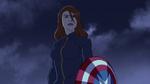 Widow with Cap's Shield AA 03