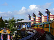 Disneyland Railroad Paris Discoveryland Station