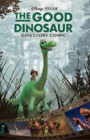 The Good Dinosaur Cinestory Comic
