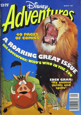 File:Disney Adventures Magazine australian cover March 1997 zoo animals.jpg