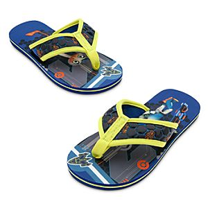 File:Miles from Tomorrowland flip flops.jpg