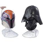 Sabine and Vader Helmets Black Series