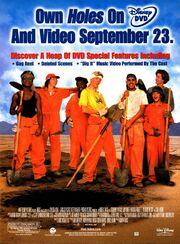 Holes movie DVD print ad NickMag Sept 2003