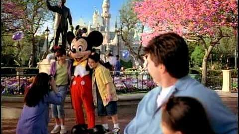 Disneyland 50th Anniversary Promotional DVD