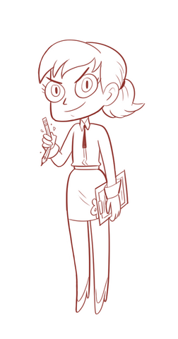 File:Hungry Larry Concept Art - Janna's costume.png