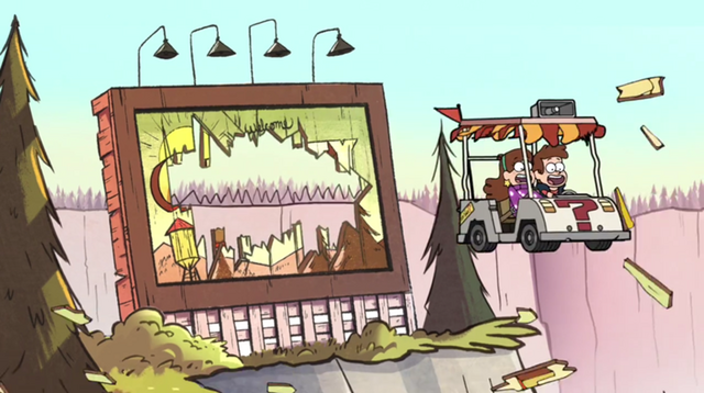 File:Dipper and Mabel golf cart escape.png