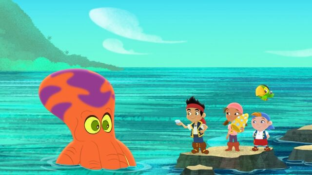 File:Jake&crew with the Octopus-Trading Treasures.jpg