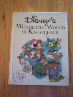 Disneys wonderful world of knowledge yearbook 1977