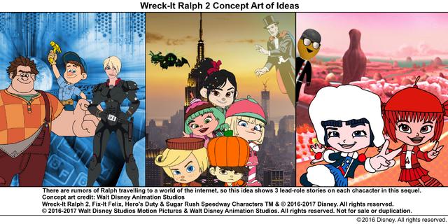 File:Wreck-It Ralph 2 Concept Art of Ideas 2.png
