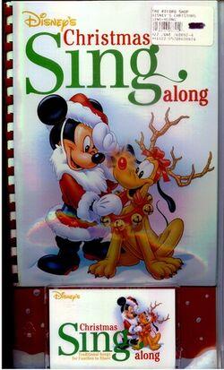 Disneys christmas sing-along cassette tape