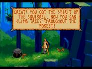 Pocahontas Genesis Gameplay