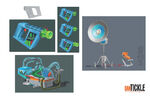 Miles from Tomorrowland equipment concept
