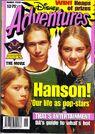 Disney Adventures Magazine Australia march 1998 hanson