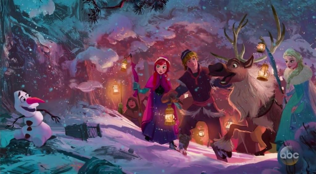 Hasil gambar untuk Olaf's Frozen Adventure