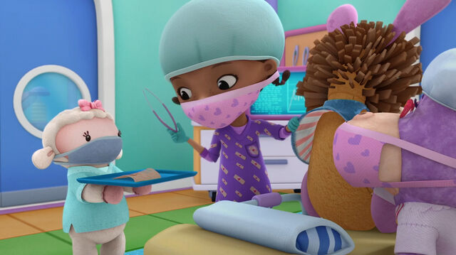File:Doc and lambie at stanley's surgery.jpg