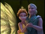 Clarion and Milori at the end of The Pirate Fairy
