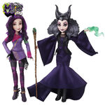 Descendants - Maleficent and Mal dolls