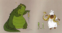 The Princess and the Frog conceptart