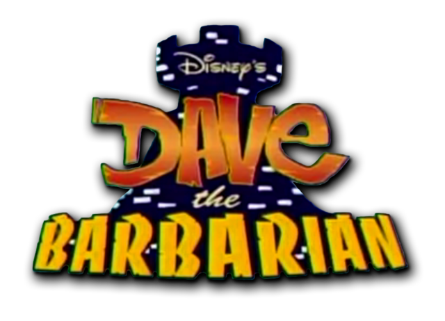 File:Dave the Barbarian logo.png