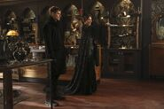 Once Upon a Time - 6x17 - Awake - Photography - Black Fairy and Gideon