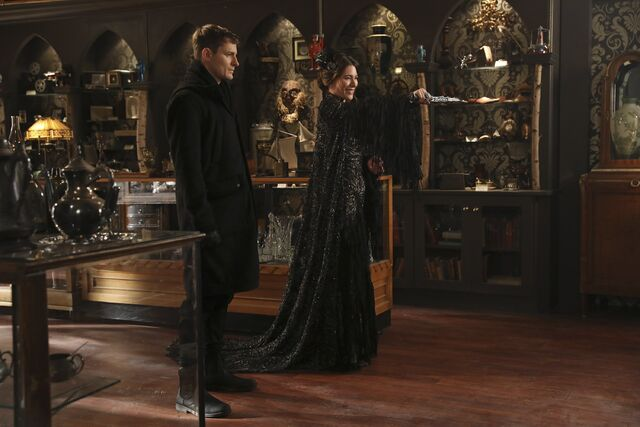 File:Once Upon a Time - 6x17 - Awake - Photography - Black Fairy and Gideon.jpg