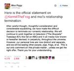 Break-up Twitter statement