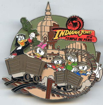 File:DLP - Pin Trading Event - Indiana Jones and the Temple of Doom Event - Magica De Spell with Huey, Dewey, Louis & Webby.jpeg