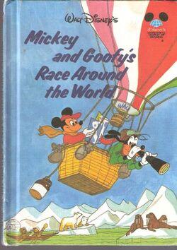 Mickey and goofy's race around the world