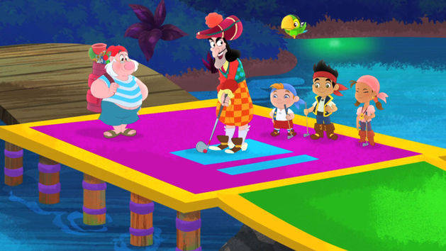 File:Jake&crew with Hook&Smee-Pirate Putt-Putt.jpg