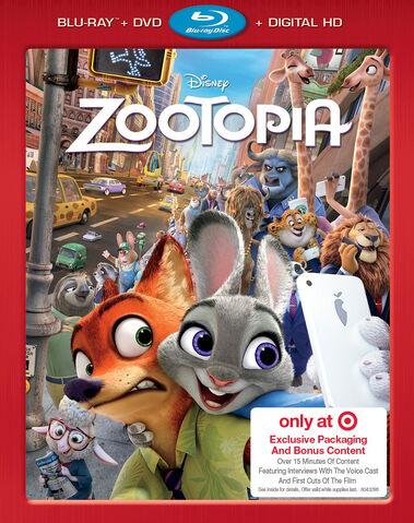File:Zootopia Blu-ray Exclusive Cover.jpg