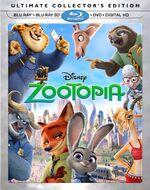 Zootopia BluRay Collectors Edition