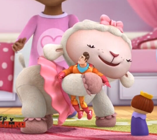 File:Lambie hugs awesome guy.jpg