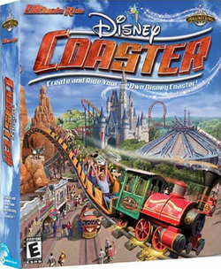 Ultimate Ride Disney Coaster Cover
