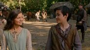 Once Upon a Time - 5x04 - The Broken Kingdom - Young Arthur and Guinevere
