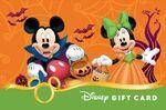 Mickey and Minnie Halloween 2014 Disney Gift Card