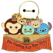 HKDL Tsum Tsum Trading Day Pin 12