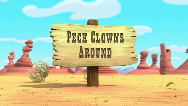 File:Peck Clowns Around.png