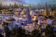 Star Wars Land D23 2017 Model 06