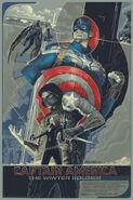 Captain America TWS - Mondo Poster