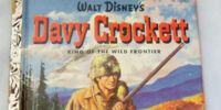 Davy Crockett, King of the Wild Frontier (Little Golden Book)