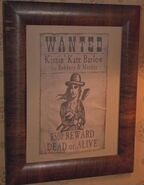 Kissin Kate Wanted Poster