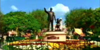 Disney Partners Statue