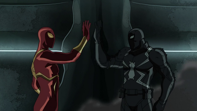 File:Iron Spider and Agent Venom USMWW 2.png