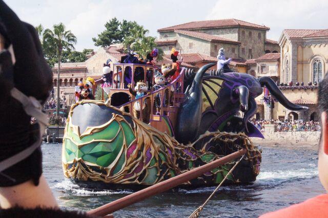 File:Maleficent and Ursula Boat.jpg