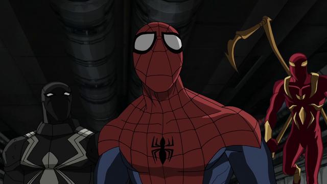 File:Agent Venom Iron Spider Spider-Man USMWW 1.png