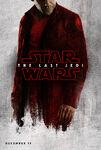 The Last Jedi red poster 6