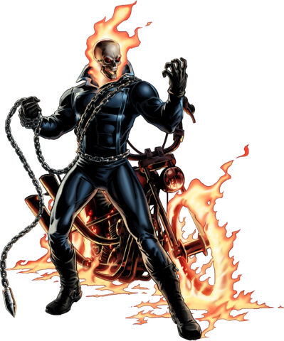 File:Ghost Rider Portrait Art.png