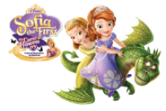 Sofia the First The Curse of Princess Ivy Transparent Promotion