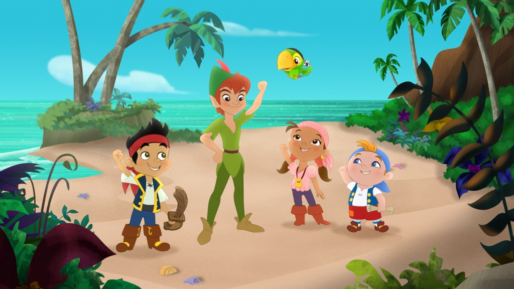 Jake And The Neverland Pirates Peter Pan Returns Dvd